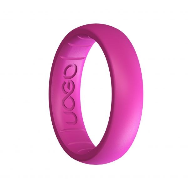 Women's Peony Pink Sport Series Silicone Ring