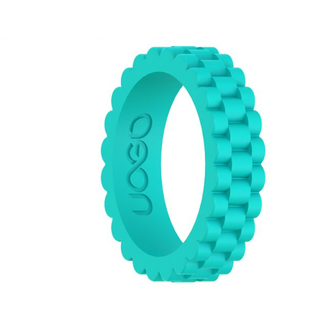 Women's Aqua Azure J12 Series Silicone Ring