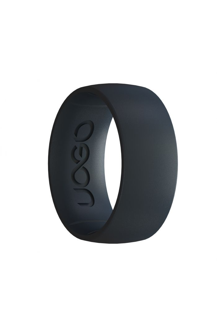 Men's Carbon Black Sport Series Silicone Ring