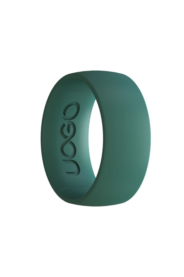 Men's Forest Green Sport Series Silicone Ring
