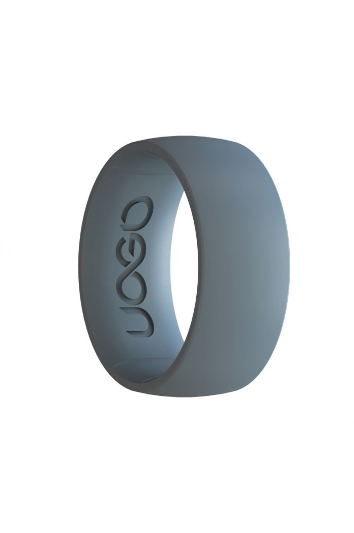 Men's Stone Gray Sport Series Silicone Ring