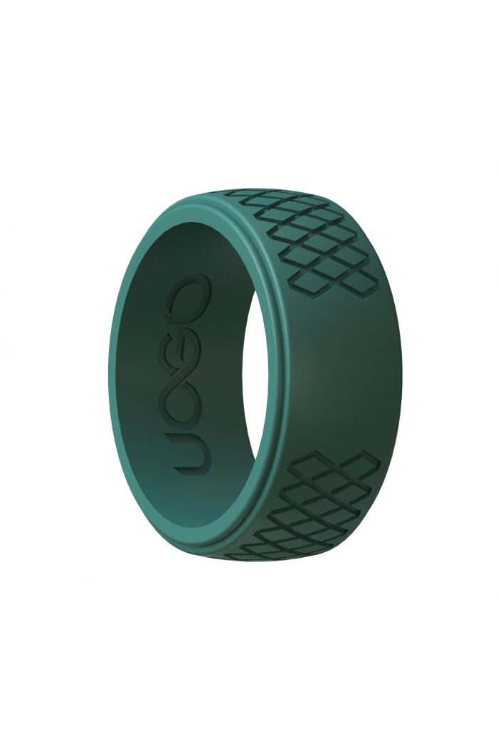 Men's Forest Green Grip Series Silicone Ring