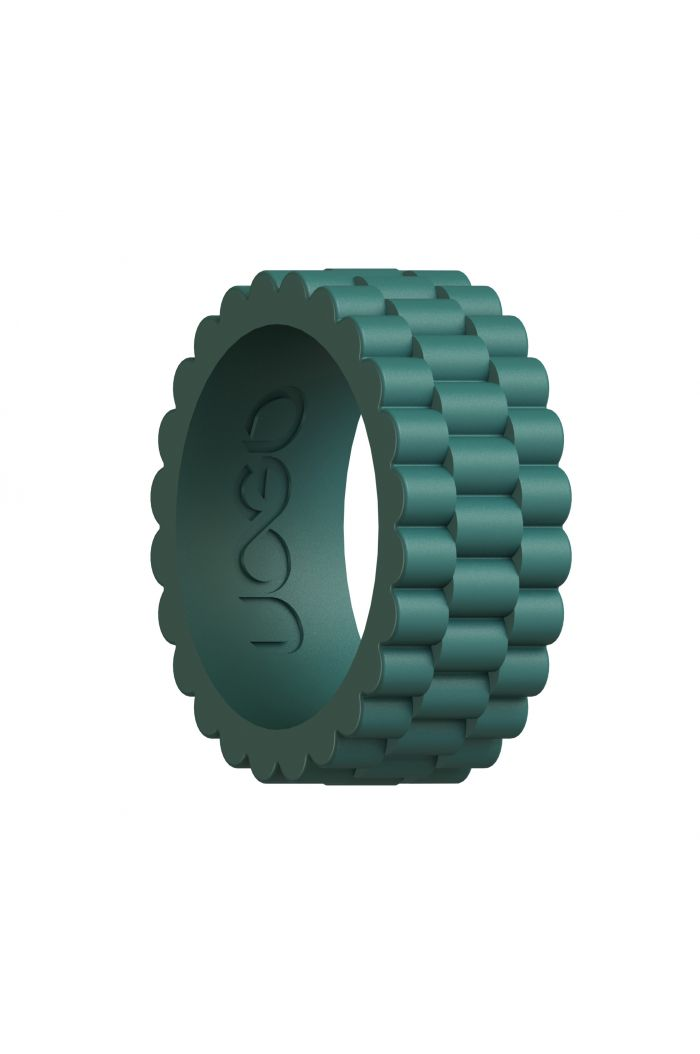 Men's Forest Green J12 Series Silicone Ring