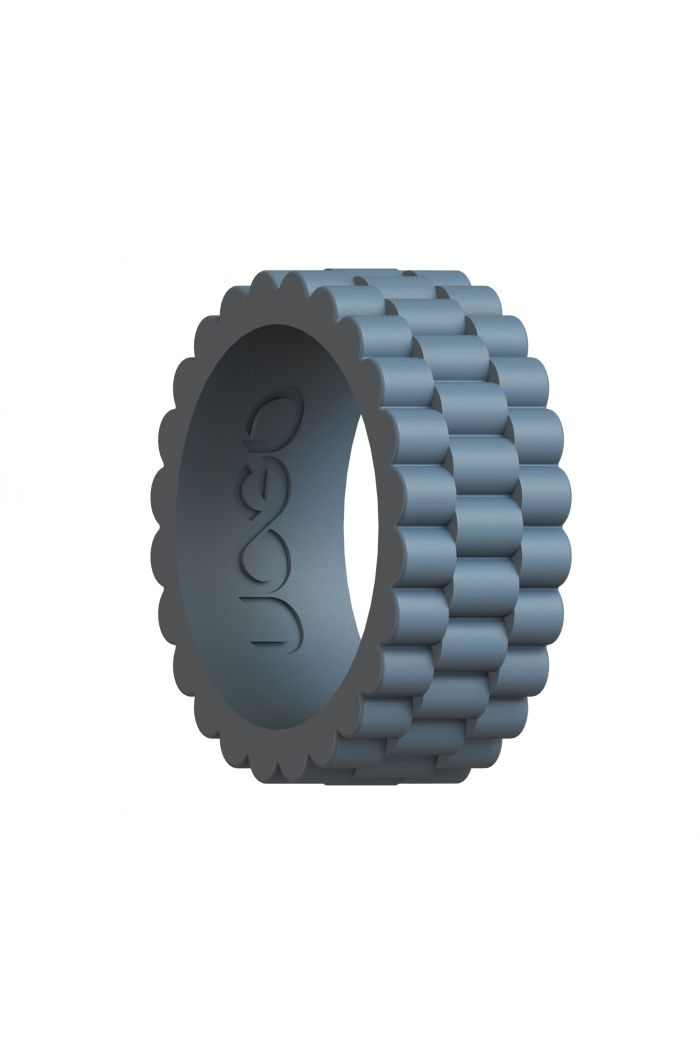 Men's Stone Gray J12 Series Silicone Ring