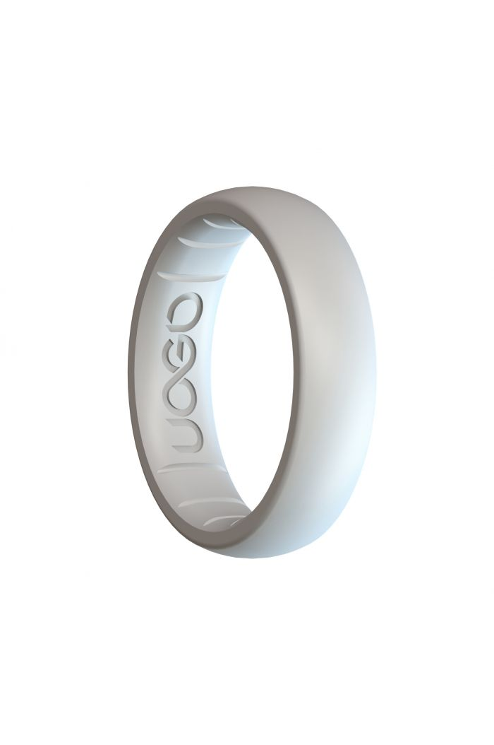 Women's Arctic White Sport Series Silicone Ring