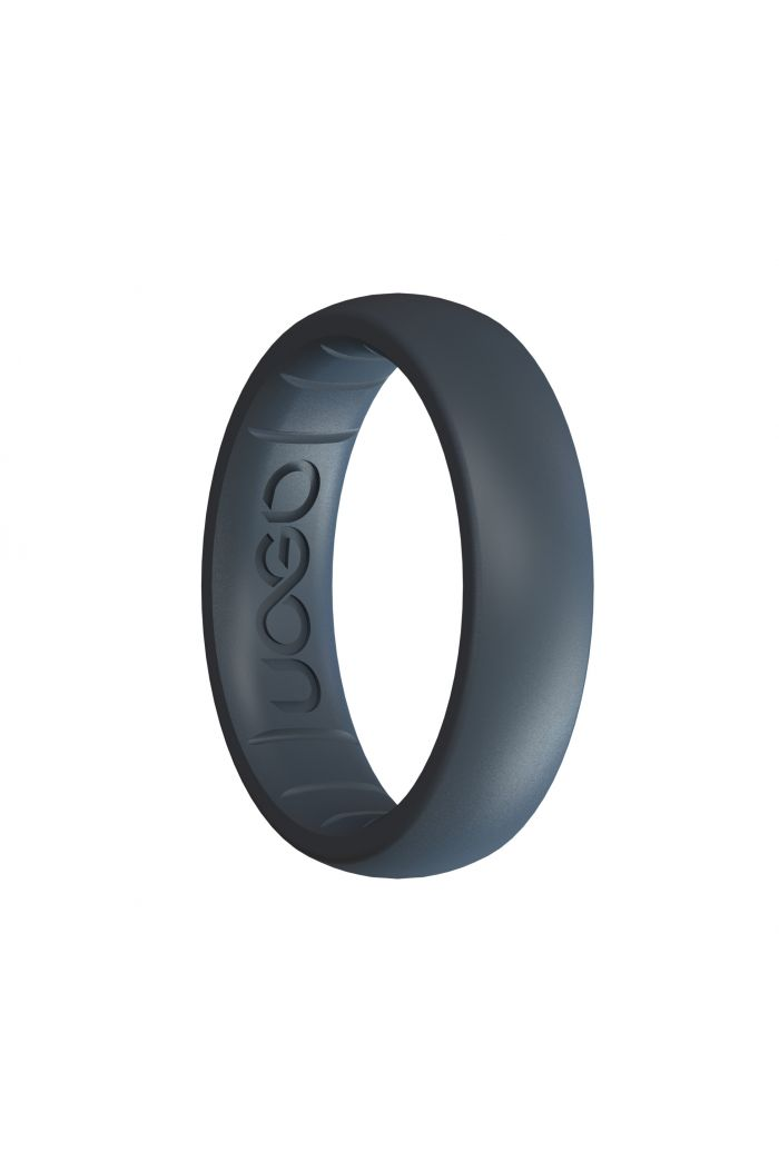 Women's Carbon Black Sport Series Silicone Ring