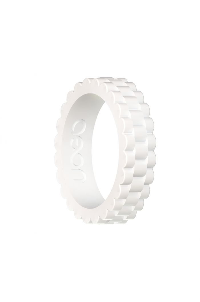 Women's Arctic White J12 Series Silicone Ring