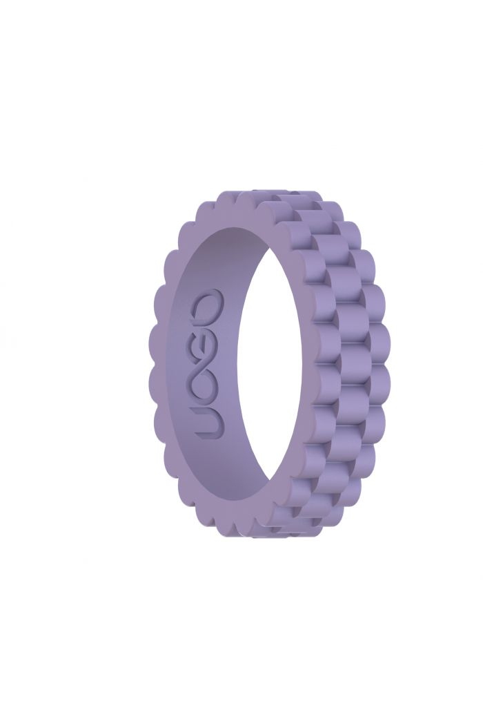 Women's Luscious Lilac J12 Series Silicone Ring