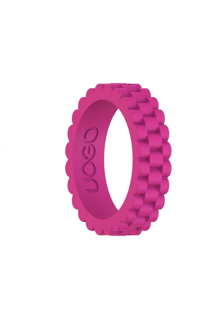 Women's Peony Pink J12 Series Silicone Ring
